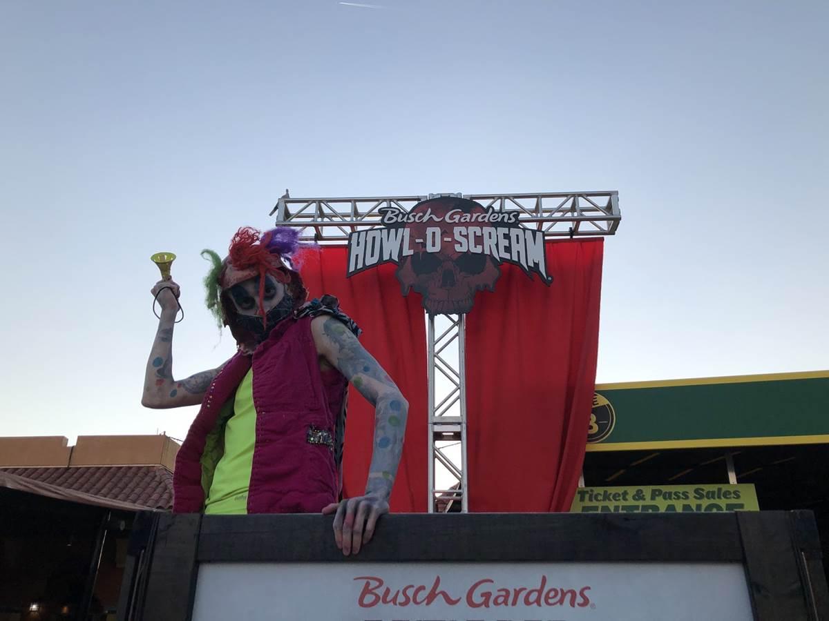 review howl o scream 2020 at busch gardens tampa bay - Busch Gardens Howl O Scream What Rides Open