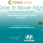Save $20 Off CHOC Walk Drive In Movie Night as a Giving Tuesday Deal
