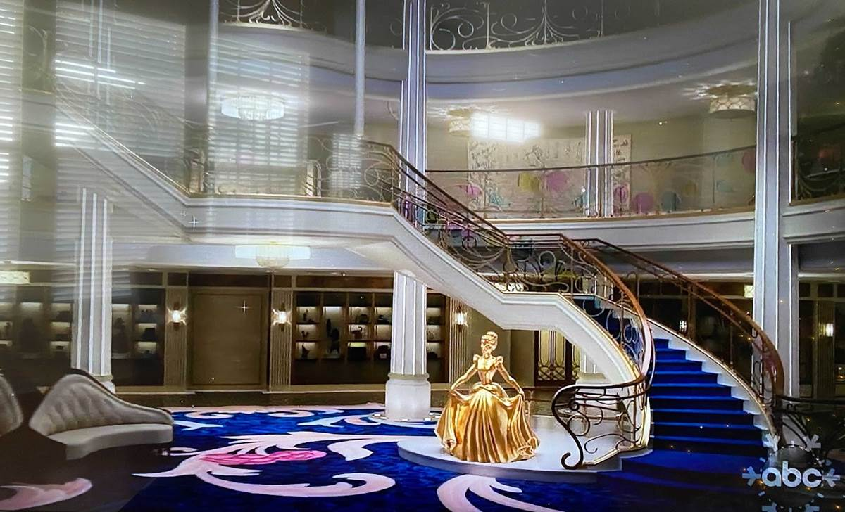 Disney Cruise Line Reveals Cinderella Lobby Statue for Disney Wish -  LaughingPlace.com