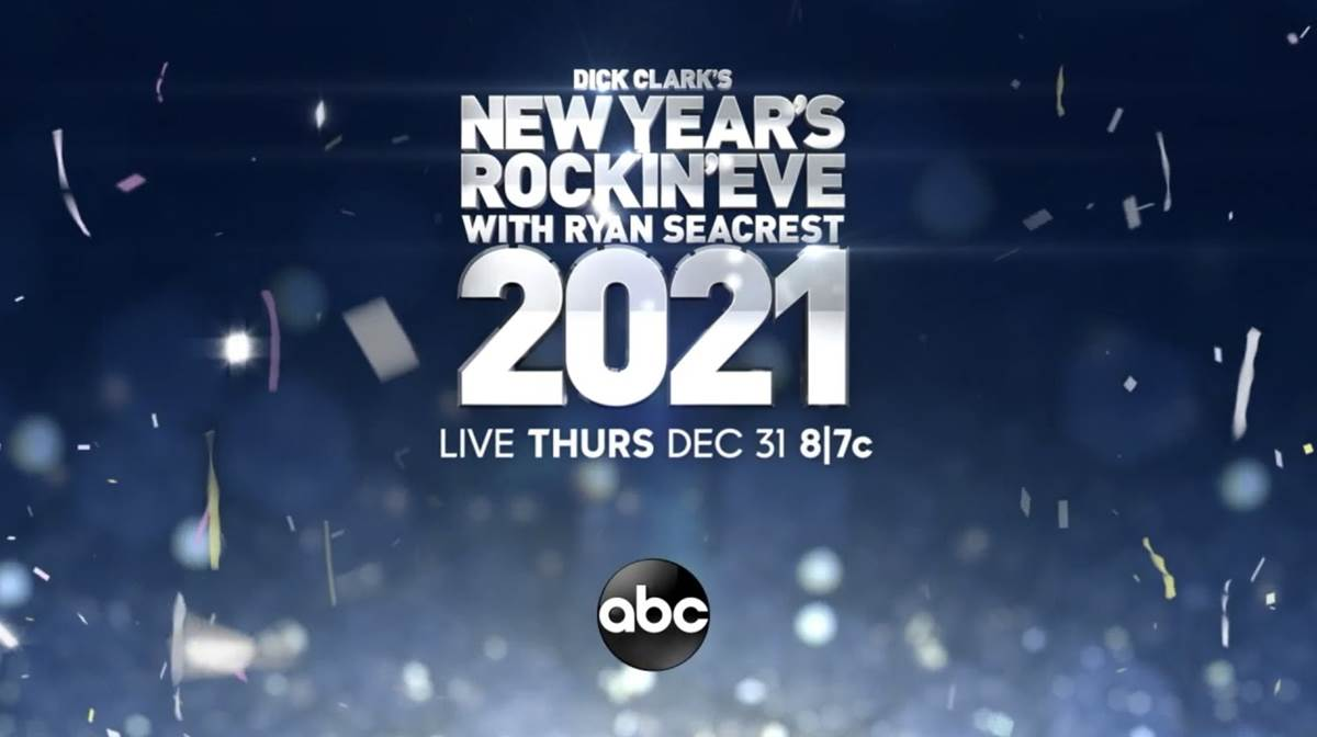 "ABC Announces Performers for ""Dick Clark's New Year's Rockin' Eve"" to Ring in 2021 ..."