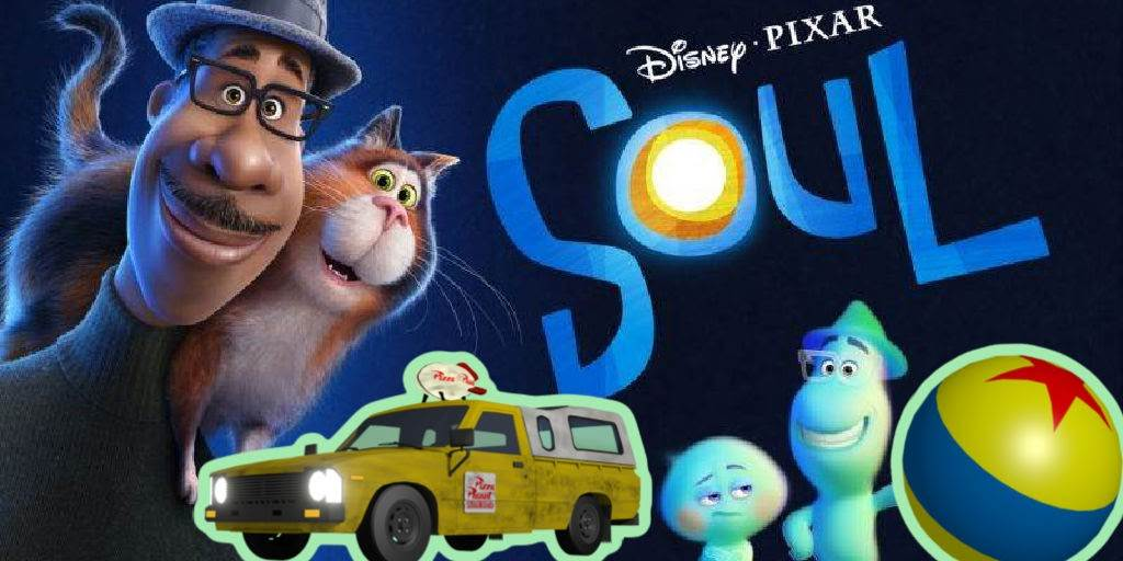 """A List of Easter Eggs Found in Pixar's """"Soul"""" (Pizza Planet Truck, Pixar Ball, A113 and More!) laughingplace.com"""