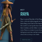 """Check Out This Interactive Experience Created for """"Raya and the Last Dragon"""""""