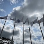 EPCOT Installs Brand New Flags Featuring Original Icons and New Area Music in Entry Plaza