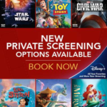 New Movies Added to El Capitan Theatre's Private Screenings
