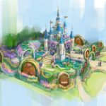 "Shanghai Disney Resort Celebrates 5th Anniversary of Disneytown, Shares Rendering of ""Dream Garden"" for China Flower Expo"