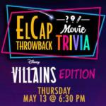 Disney's Next El Cap Throwback Trivia Night Themed to Disney Villains