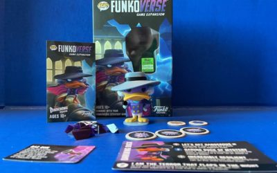 Game Review: Pop! FunkoVerse Darkwing Duck Expansion Pack