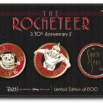 """D23 Gold Members Can Celebrate 30 Years of """"The Rocketeer"""" With Exclusive Pin Set"""
