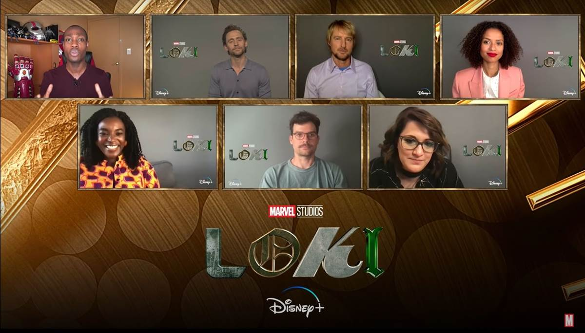 new video from marvel shows cast and creative team from loki sharing fun behind the scenes stories and details.