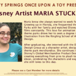 Meet Disney Artist Maria Stuckey at Disney Springs on July 7th Alongside Disney Parks Wishables Incredibles Collection Launch
