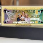 """""""The Golden Girls"""" Limited Edition Gold Notes Available Now"""