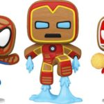 Catch These Marvel Holiday Gingerbread Funko Pop! Before They're Snapped Up