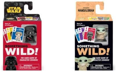 """Funko Introduces New Star Wars and """"The Mandalorian"""" Something Wild! Card Games"""