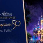 D23 Announces Walt Disney World 50th Anniversary Virtual Event
