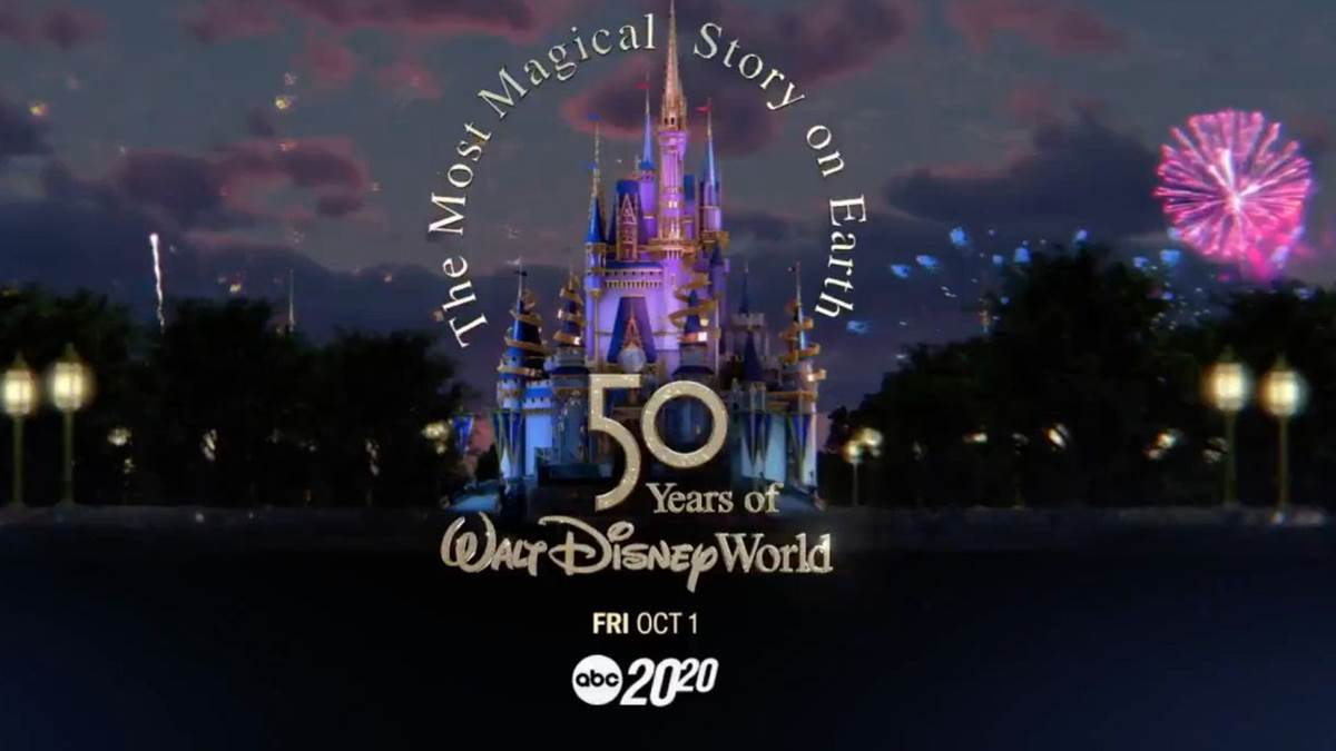 Especial de TV em comemoração aos 50 anos do Walt Disney World ganha teaser