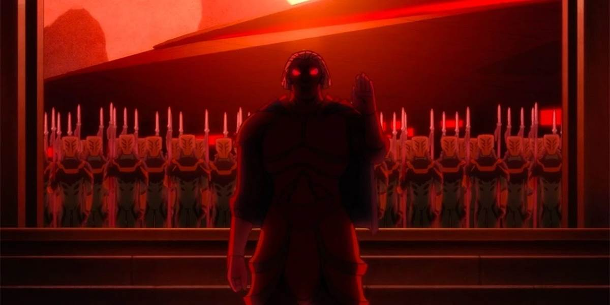 """TV Review - """"Star Wars: Visions"""" Episode 9 - """"Akakiri"""" Wraps Up the  Animated Series with a Haunting Sacrifice - LaughingPlace.com"""