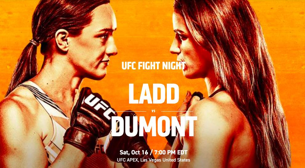 UFC Fight Night: Ladd vs Dumont - Reddit MMA Streams Live, How to Watch Online, Time, Fight Card